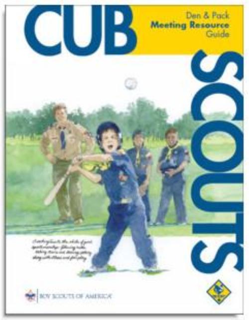 cub scout leaders handbook