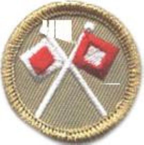 Signaling Merit Badge Merit Badge Opportunity